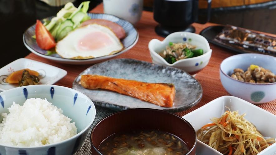 朝食一例/栄養満点の和定食