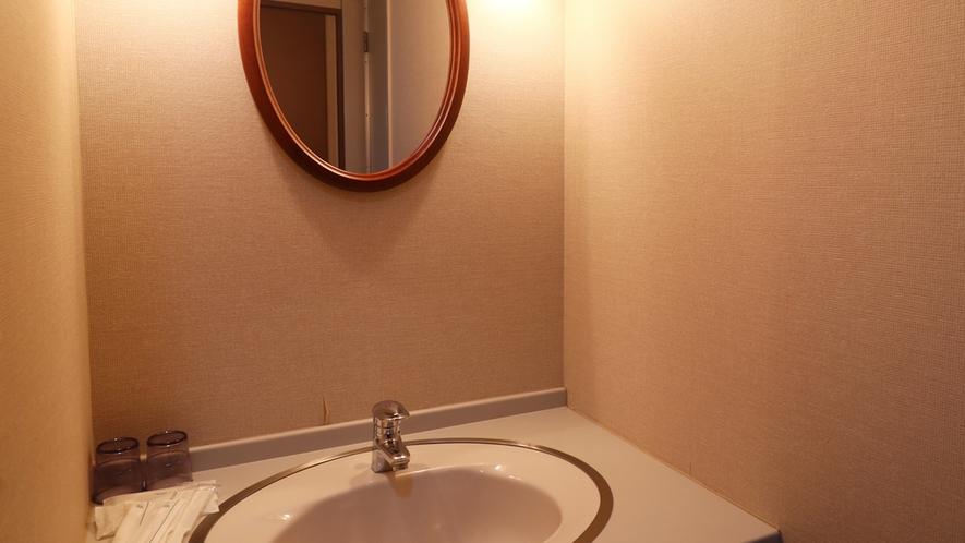 客室一例/洗面台