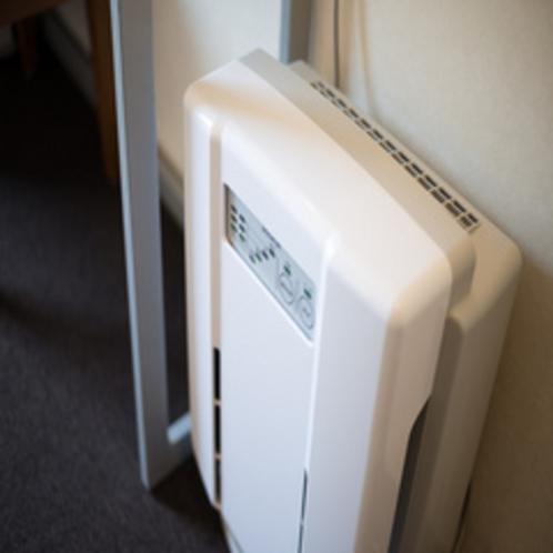 【客室備品】空気清浄機
