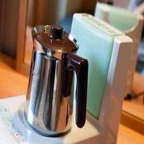 【客室備品】加湿器付電磁サーバー