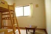 二段ベッド1つのお部屋(1~4名)