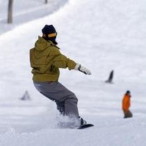 スノーボードもあります!