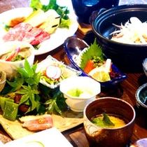 【初音~ミニ会席~】旬の食材をふんだんに使ったおいしいお料理をお楽しみくださいませ!