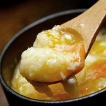 【山芋の茶碗蒸し】当館が発祥!筋湯温泉定番の味!
