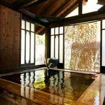 【離れ】筋湯温泉の特徴は、良泉!豊富な湯量!