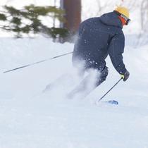 冬はスキーを楽しもう!