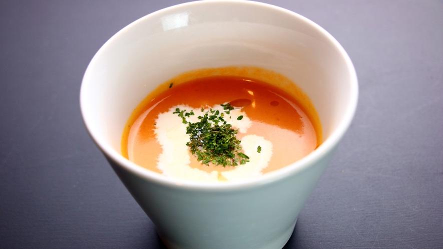 【夕食】スープ