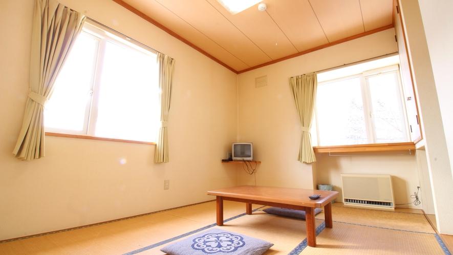 *■和室6畳一例/お部屋の向きによっては、二面採光のお部屋もあり柔らかな自然光が開放感を味わえます