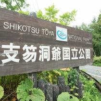 **支笏湖と洞爺湖を擁する国立公園。公園内には有珠山・樽前山・昭和新山など個性的な山も多い
