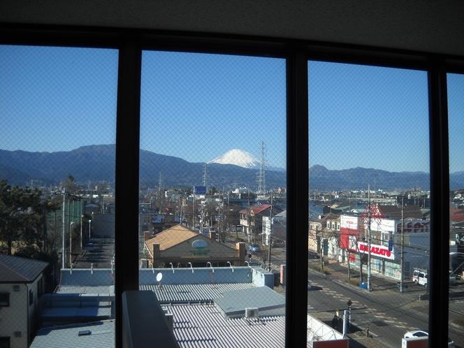 非常階段より。(富士山側)