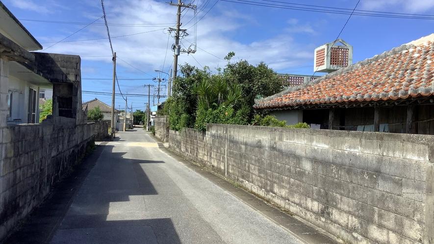鳥島集落(徒歩5~10分)