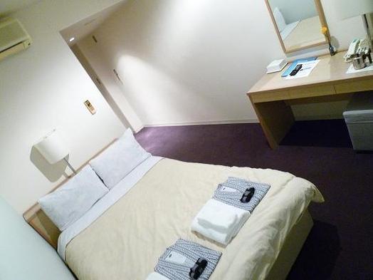 ◆素泊まり◆シングルルーム セミダブルベッドに2人で泊まる仲良しプラン♪