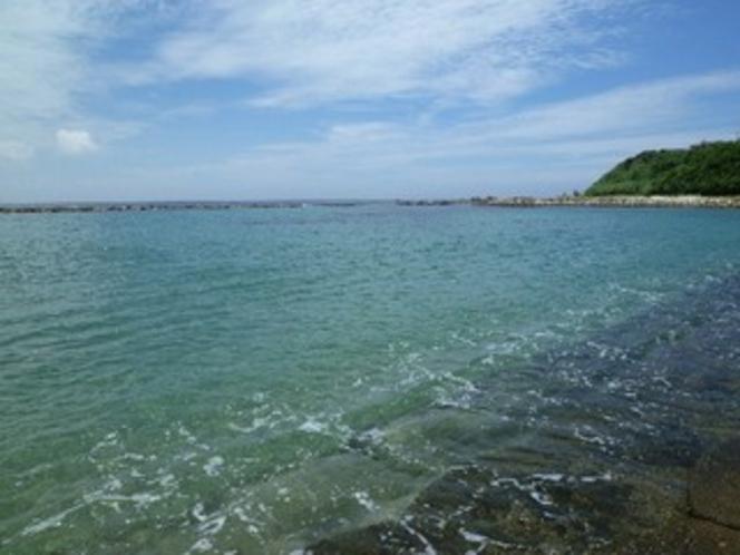 富岡海水浴場【ホテル目の前】