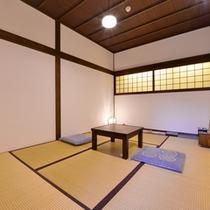 *【6畳/客室一例】竣工後にリフォームされた、落ち着きのあるコンパクトなお部屋です。