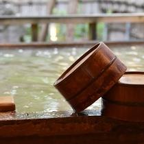*【檜の桶】湯屋全体が総檜造りなので、香りと温泉で癒されます。
