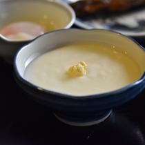 *【朝食一例】大豆の優しい味わいと滑らかな舌触りは、オリジナルならではの味です。