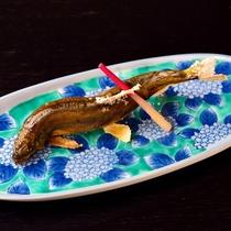 *【夕食一例】焼物 鮎の塩焼き