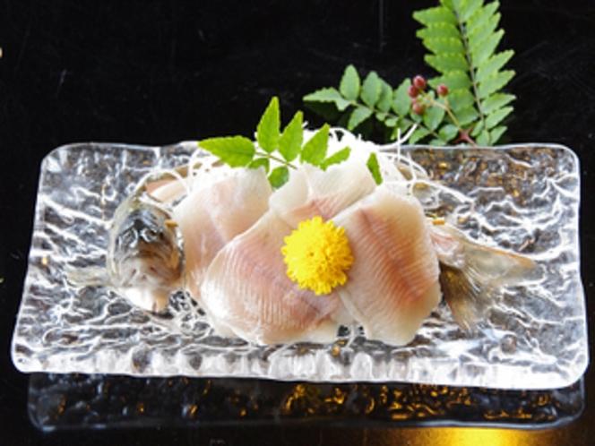 岩魚のお造り(例)