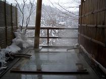 雪見露天風呂(無料貸切)