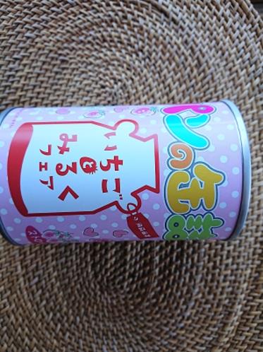 いちごとミルクパンの缶詰