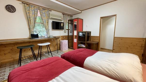 「森のお泊り」ツインルーム