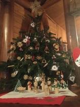 クリスマスにはもみの木のツリー