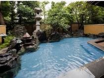比叡の湯 庭園露天風呂