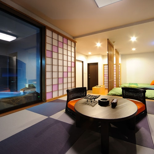 【全7室露天風呂付客室】お部屋からは自然豊かな「青根温泉郷」の癒しの景観