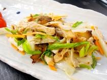 【お食事の一例】美味しい手作り料理でおもてなし。