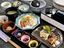 【ご朝食】和食中心のおいしい朝食です。