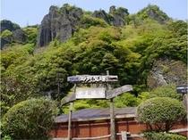 新緑の絶景が美しい立久恵峡