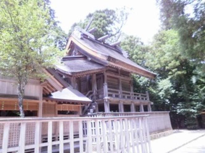 パワースポットの須佐神社