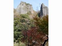 奇岩、柱石
