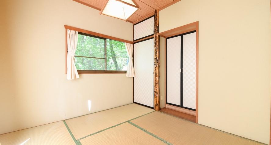 *【和洋室ビラ・タイプ(5名~6名用)】2階和室6畳