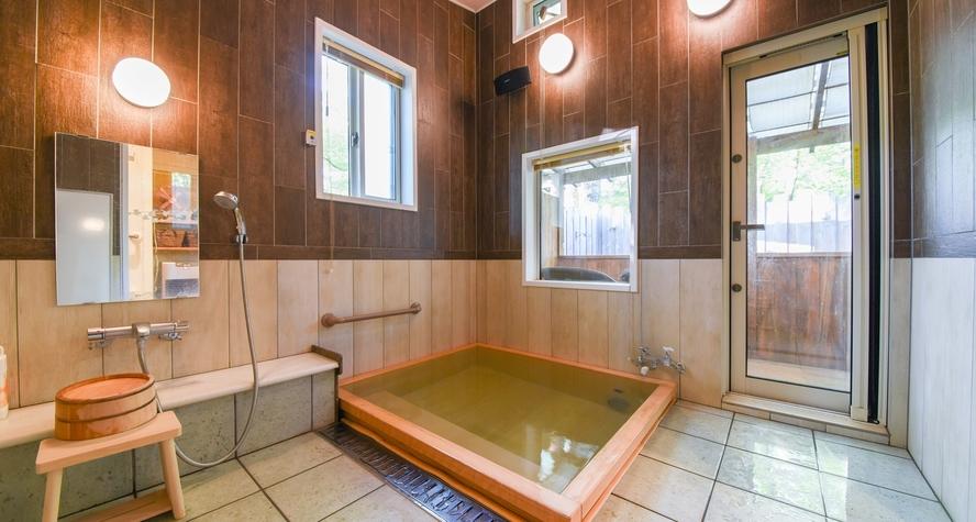 *【SPA HITOU】檜の貸切風呂