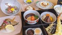 夕食一例(秋冬)