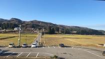 新館(窓からの景色)