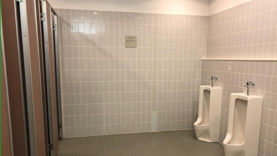 宿泊者用共同トイレ(男性用)