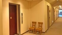 2階 宿泊者専用エレベーター
