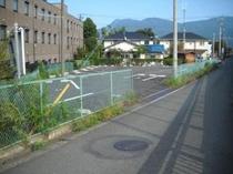 第一駐車場奥入口