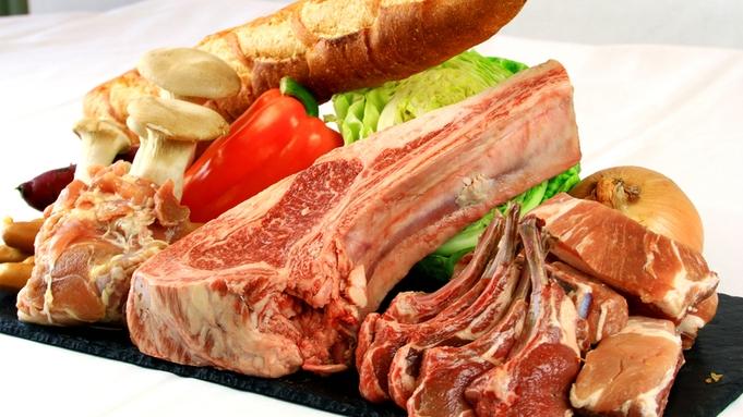 【肉合計2.4kg】いろんな骨付き肉が大暴れ!ボリューム爆発のワイルドBBQ!【4名〜限定】