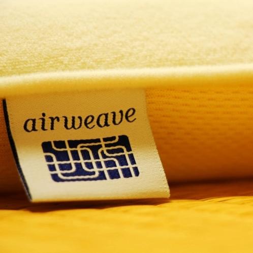 話題の「エアウィーヴ」で上質な睡眠をどうぞ。全室導入しております