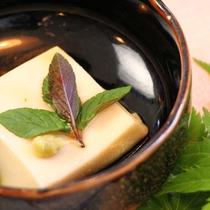夕食 一品(豆腐)