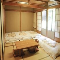 横浜観光の後はみんなで和室!6名様までご宿泊可能♪
