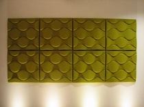 エレベータホールのアートワーク