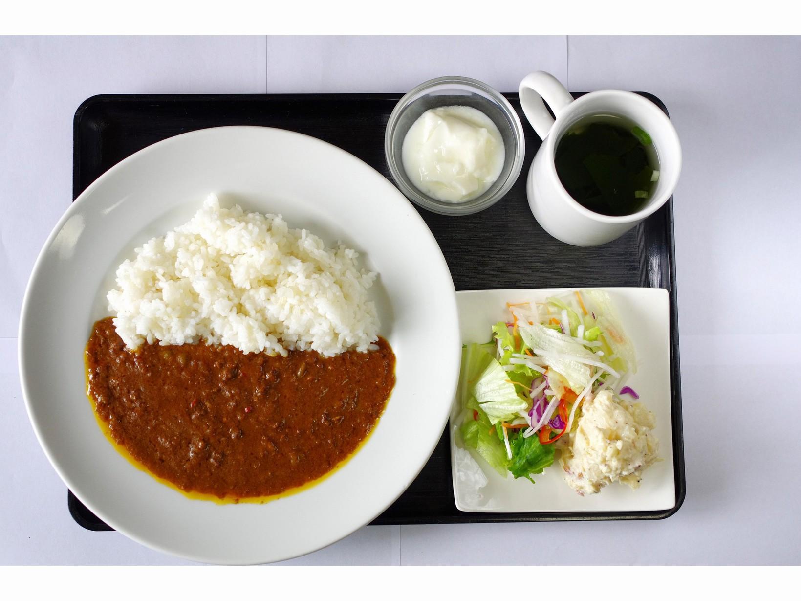 ホテルテナント朝食(カレーセット)