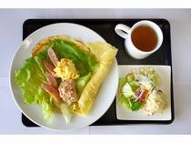 ホテルテナント朝食(クレープ)
