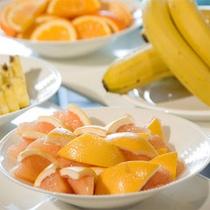朝食:フルーツ