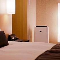 ◆お部屋設備/空気清浄機(和モダンルーム限定完備)