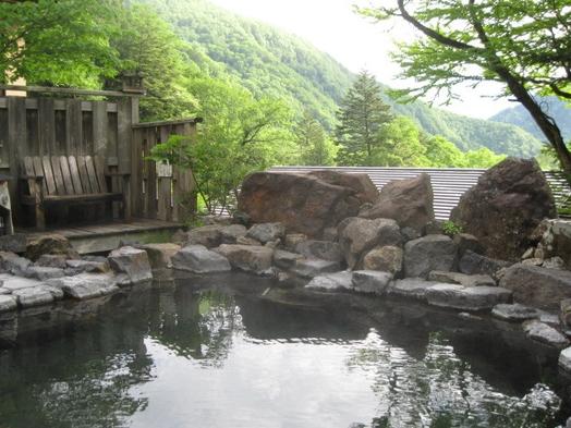 【上高地への玄関口、大自然の温泉一軒宿】1泊2食付き 中の湯温泉通常プラン
